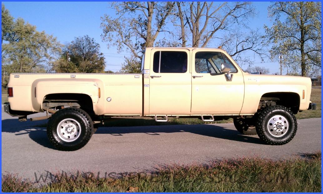 1978 78 Chevrolet Chevy Crew Cab Dually K30 1 One Ton 4x4